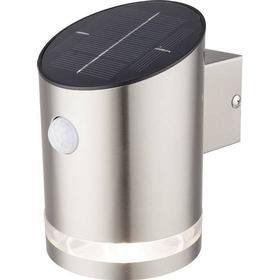 Solcelle-udendørsvægbelysning Renkforce 15 lm Kølig hvid