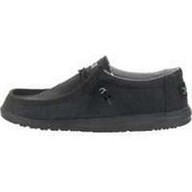 Hey Dude Wally Shoes - Jet Black