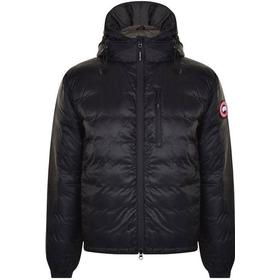 Canada Goose Lodge Hoodie Jacket - Black