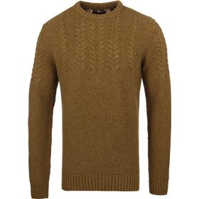 Barbour Craster Antique Gold Knitted Crew Neck Sweater