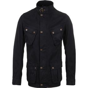 Barbour International Rumble Dark Navy Cotton Twill Jacket