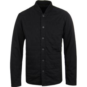 Barbour International Gasket Black Quilted Overshirt