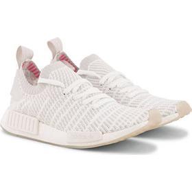 adidas Originals NMD_R1 Primeknit Running Sneaker White