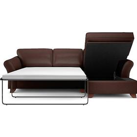 Marks & Spencer Abbey Corner Chaise Storage Right-Hand Leather Bäddsoffa