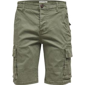 Only & Sons Solid Cargo Shorts Kalamata (22005829)