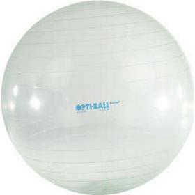 Opti-Ball Gymnastikball Sitzball transparent, Ø 75 cm