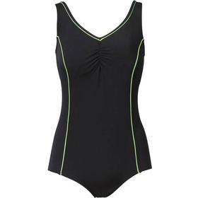Trofé Chlorine Proof Swimsuit - Black/Green