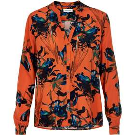 0e1b5d89 eva dametøj. Denim Hunter Eva Shirt - Red Orange