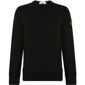 Stone Island Cotton Sweatshirt Black (62740)