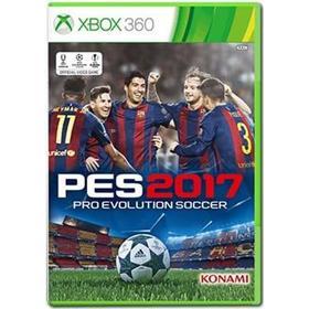 Konami Pro Evolution Soccer 2017 - Microsoft Xbox 360 - Sport - fodbold