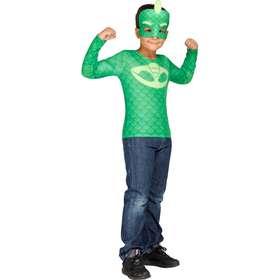 Gecko-dräkt från Pyjamashjältarna för barn 98 - 104 cm (3 - 4 år 248c1af3a5614