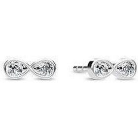 spinning øreringe sølv