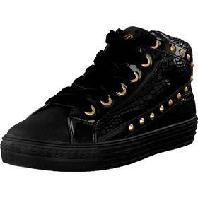 Replay Sky Canterbury Black, Sko, Sneakers & Sportsko, Høje Sneakers , Sort, Unisex, 30