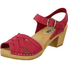 06d141b1979 Mohedatoffeln Betty, Skor, Klackskor, Lågklackade sandaletter, Röd, Dam, 40