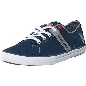 U.S. Polo Assn Cuped Blue, Sko, Sneakers & Sportsko, Lave Sneakers, Blå, Dame, 36