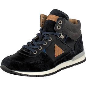 Le Coq Sportif Gaspar Shoot JR Dress Blue, Sko, Sneakers & Sportsko, Høje Sneakers , Sort, Unisex, 28
