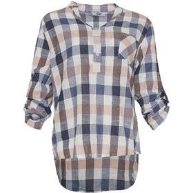 Tiffany Tiffany Linen Shirt, Multi Checks