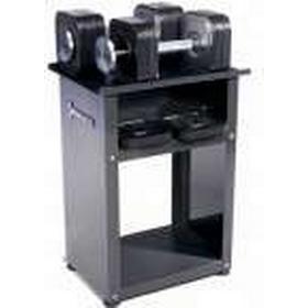 Set d'haltères Ironmaster Quick Lock 20,5 kg, rack d'haltères courts non inclus