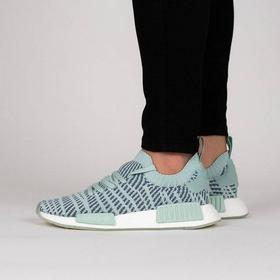 Women's Shoes sneakers adidas Originals Nmd_R1 Stlt Pk W CQ2031 GREEN Size 37 1/3