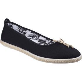 Flossy Womens/Ladies Condor Canvas Casual Summer Ballerina Pumps Shoes UK Size 7 (EU 41)