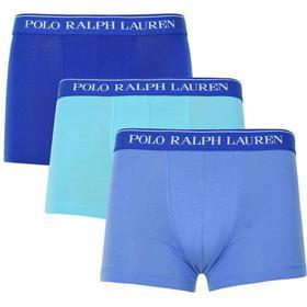 Polo Ralph Lauren Stretch Cotton Trunk 3-pack Sapphire/Blue/Aqua (101449041)