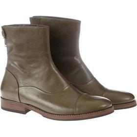 Mentor Back Zip Boot i Grøn - (Støvler)