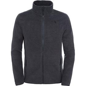 The North Face - Men's 100 Glacier Full Zip Fleecetrøje (Grå, XL)
