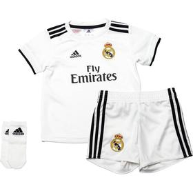 Adidas Real Madrid Home Jersey Mini Kit 18/19 Infant