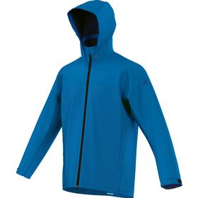 adidas Climaproof Jacket Solid Color - Herren Outdoor Jacke - AP8352 blau