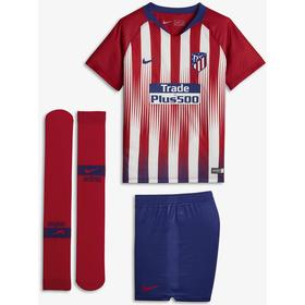 Nike Atletico de Madrid Home Stadium Jersey Mini Kit 18/19 Youth