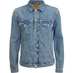 Jack & Jones Casual Denim Jacket Blue/Blue Denim (12118276)