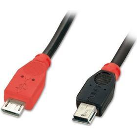 Lindy Premium USB Micro-B-USB Mini-B OTG 2.0 2m