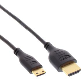 InLine Super Slim HDMI-Mini HDMI 2.0 1m