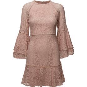 By Malina Ettie Mini Dress - Dusty Pink