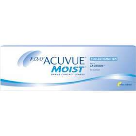 c8b05915f1f3 endagslinser astigmatism. Johnson   Johnson 1-Day Acuvue Moist for  Astigmatism 30-pack