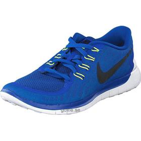 Titta snyggt Nike Free 5.0 Royal Neo Herr (Blå)
