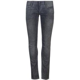 G-Star 3301 Low Waist Skinny Jeans - Dark Aged Cobler