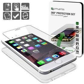 4smarts 360 iPhone 6 / 6S Beskyttelsessæt - Gennemsigtigt