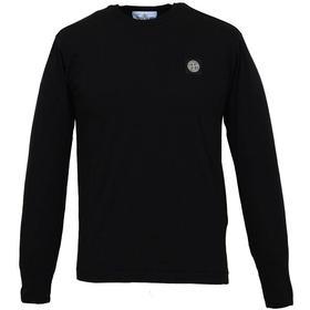 Stone Island Long Sleeve T-shirt Black (691524041v0029)