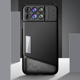 iPhone X 6 Lens Kit Phone Case - Sort