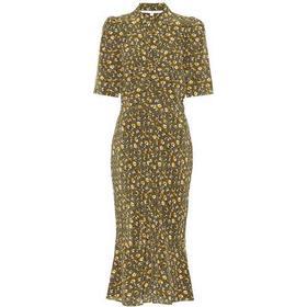 Pike floral silk dress