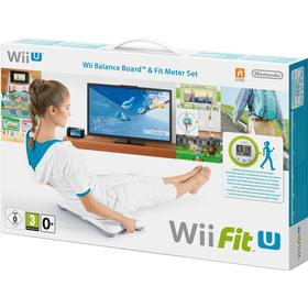 Wii Fit U + Fit Meter +Wii Balance Board tilbehørspakke