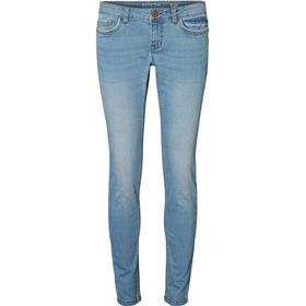 Noisy May Eve Lw Skinny Fit Jeans Blue/Light Blue Denim