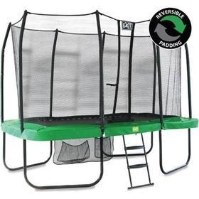 EXIT Jump-Arena 366x214 rektangulær trampolin