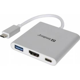 USB-C Mini Dock HDMI+USB Sandberg