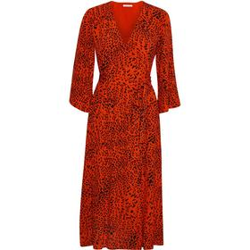Gestuz Loui Dress - Red Leopard