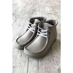 a1a753e63cb Nature - Sko - Emma Leather - Light Grey W. Matching Sole