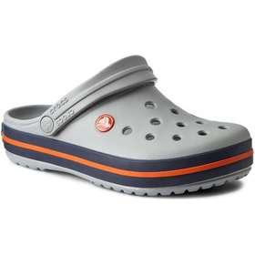 59c0be1c orange sko herresko. Crocs Crocband Light Grey/Navy - Grey/Blue/Orange
