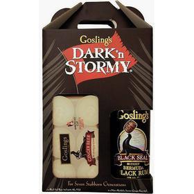 Goslings - Dark 'n' Stormy (Bermuda Gosling's Black Seal Rom + 6 ds Ginger Beer)