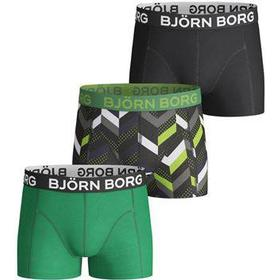 Björn Borg - 3-pack Zig Zag Shorts For Boys Multi-colour